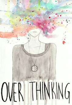 """""""We are dying from overthinking. We are slowly killing ourselves by thinking about everything. Think. Think. Think. You can never trust the human mind anyway. It's a death trap."""" — Anthony Hopkins Over Thinking by ~kiwiTACHAN Creations, Sketches, Feelings, My Love, Photos, Random, Introvert Problems, Wallpapers, Depression"""