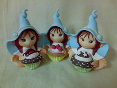 Elfi e dolcetti in Fimo