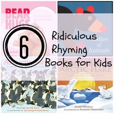 6 Silly, Funny #Rhyming #Books To #Read With Your #Kids
