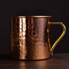 Japanese Copper Moscow Mule Mug | Parched Penguin | The Art Of Drinking