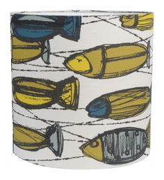 Heal's | Heal's Discovers Little Fishes Lampshade By Maria Hatling - Shades - Lamp Shades - Lighting