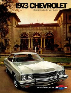 1973 Chevrolet Brochures
