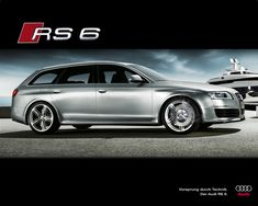 Audi RS 6 . This Audi RS 6 is the first whip with LED light technology in all the cars out now... the Progenitor...