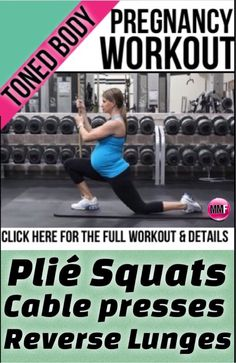 Its totally possible to look and be fit during pregnancy. If you exercise during pregnancy, you will. Here is a workout that is safe to do during all trimesters of pregnancy and will help you gain less excess weight and keep you actually toned.  http://michellemariefit.publishpath.com/toned-body-pregnancy-workout