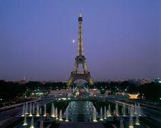 Paris in the fall.