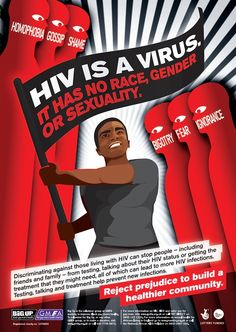 POSITIVE? Awareness of Attitudes to HIV | CAMPAIGNINIG | Posters