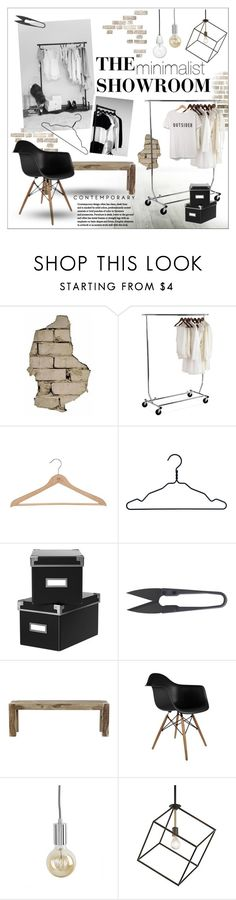 """The Showroom - minimalist"" by szaboesz ❤ liked on Polyvore featuring interior, interiors, interior design, home, home decor, interior decorating, Neatfreak, Nomess, All Lovely Stuff and Home Decorators Collection"