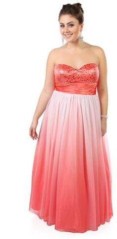 #Deb Shops                #Skirt                    #plus #size #ombre #sequin #strapless #long #prom #dress #with #ball #gown #skirt #debshops.com         plus size ombre sequin strapless long prom dress with ball gown skirt - debshops.com                                              http://www.seapai.com/product.aspx?PID=1869885