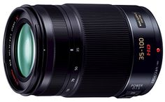 PANASONIC LUMIX G X Vario Lens, 35-100mm, F2.8 ASPH., Professional Mirrorless Micro Four Thirds, POWER Optical I.S., H-HS35100 (USA BLACK) *** Click image to review more details.