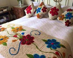 Veja lindas colchas feitas por mãos de fadas