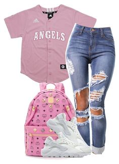 """""""Untitled #213"""" by simoneswagg ❤ liked on Polyvore featuring MCM and NIKE"""