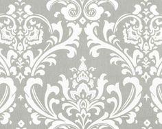 Premier Prints Ozborne Storm Grey and White by ModernalityFabrics, $9.95