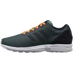 8870037c6421e Adidas ZX Flux - Wonder Mint   Night Navy   Glow Orange - 2014 Groene  Schoenen