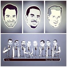 Swaggatown. Custom Caricature T-Shirts #groomsmen #groomsmengifts #BachelorParty #groomgifts #LetsParty #NoFail #DoIt #groomsgifts #thefellas #bestman #thegroom #caricatureTshirts #groomsPartyTshirts