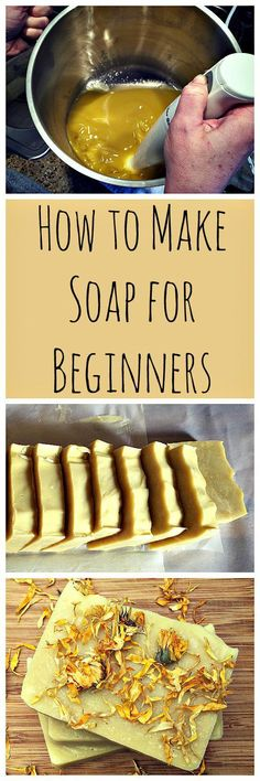 Homemade Calendula Soap: A recipe and guide for beginners. Homemade Calendula Soap: A recipe and guide for beginners. Homemade Soap Recipes, Homemade Gifts, Diy Cosmetic, Diy Savon, Lotion Bars, Diy Lotion, Homemade Beauty Products, Handmade Soaps, Diy Soaps