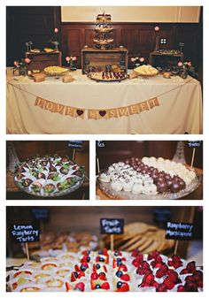 Ditch the traditional cake and create a DIY gourmet dessert bar on a budget for your guests to enjoy at your wedding.