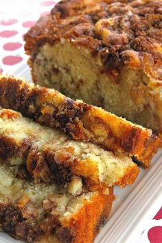 Apple Cinnamon Loaf Cake makes 1 loaf Ingredients: cup brown sugar 1 teaspoon ground cinnamon cup white sugar cup butter, softened 2 eggs 1 teaspoons vanilla extract 1 cups all-purpose flour 1 teaspoons baking powder cup milk 1 apple, peeled and chopped Apple Cinnamon Loaf, Cinnamon Apples, Ground Cinnamon, Cinnamon Coffee, Apple Loaf Cake, Apple Streusel, Cinnamon Chips, Apple Nut Cake Recipe, Moist Apple Bread Recipe