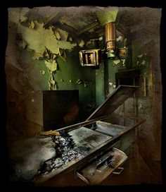 X-Ray room at the old Forest Haven Asylum