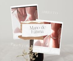 Juego en piedra Place Cards, Place Card Holders, Fatima Hand, Charms, Jewels