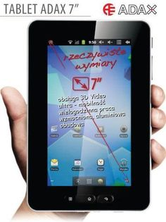 ADAX 7DR3  - DigitalPC.pl - http://digitalpc.pl/opinie-i-cena/tablety/adax-7dr3/