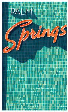 Illustrator Richard Zielenkiewicz: Palm Springs