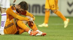 Real Madrid's La Liga title hopes are all but extinguished following their 1-1 draw with Real Valladolid at the Estadio José Zorrilla in Valladolid. Sergio Ramos' first half free kick was cancelled out by Humberto Osorio's late second half header in what has effectively ended Los Blancos' chances of a treble. #halamadrid
