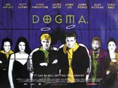 High resolution official theatrical movie poster ( of for Dogma Image dimensions: 2268 x Directed by Kevin Smith. Original Movie Posters, Film Posters, Film Movie, Hd Movies, Films, Jason Mewes, Howard Shore, E Motion, George Carlin