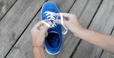 Learn how to tie your shoes in one second flat. This is a cool way to teach kids how to tie their shoes, but adults can benefit from this time-saving trick, too. Shoe Box, Your Shoes, Good To Know, Cool Kids, Kid Stuff, Tie, Classroom Management, Crafting, Homemade