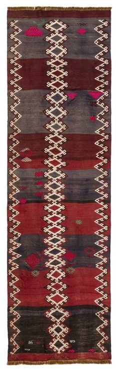 Vintage flatwoven Runner, circa 40 years old. vegetable dyed rug in a perfect condition and ready to be shipped. Carpet Runner, Rug Runner, Hallway Runner, Turkish Kilim Rugs, Shopping Mall, Bohemian Rug, Hand Weaving, Van, Trends