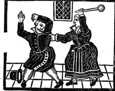 The Merry Cuckhold 1629, woodcuts from 17th-Century
