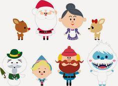 Krafty Nook: Rudolph the Red-Nosed Reindeer Kawaii
