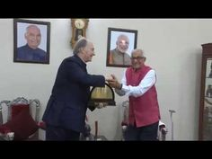 HIS HIGHNESS PRINCE KARIM AGA KHAN MEETS GUJARAT GOVERNOR