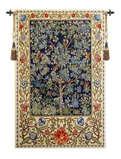 Tree of Life, William Morris Tapestry  Wall Tapestry