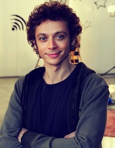 Valentino Rossi, seems like a really great guy.
