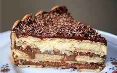Não tão comum...: Em ritmo de páscoa - receita Pavê de Chocolate sim...