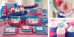 Gender reveal party decoration ideas colorfull
