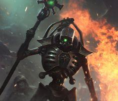Necrons,Warhammer 40000,warhammer40000, warhammer40k, warhammer 40k, ваха, сорокотысячник,Wh Песочница,фэндомы,MoonSkinned
