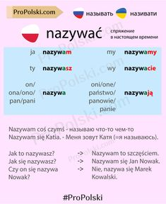 Learn Polish, Polish Language, Poland Travel, My Passion, Education, School, Funny, Polish, Language