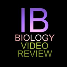 IB Biology videos tutorials for the course arranged by standard, including many written explanations - narrowed down to exactly what you need to know. This s...