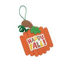Craft+Stick+Fall+Pumpkin+Ornament+-+OrientalTrading.com