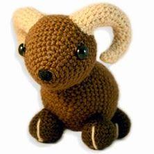 2000 Free Amigurumi Patterns: Moufflon Free crochet pattern
