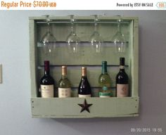 10% rustic wall wine rack pallet wood wine rack by RusticWithClass
