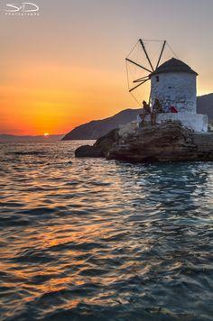 Greek sunset by Sjoerd van Duijn on 500px      #traveltoGReece.