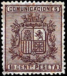 I REPUBLICA - AÑO 1874. Escudo de España.