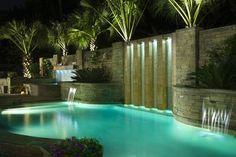 Freeform eclectic pool