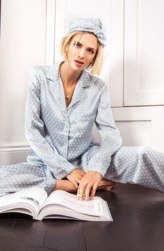 YOLKE | Fern Silk Pyjamas Long