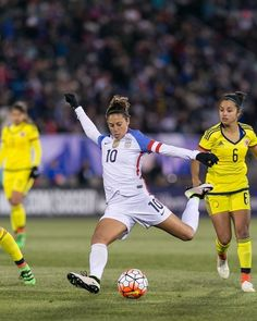 Gallery: U.S. WNT Continues Olympic Prep With 7-0 Win Against Colombia - U.S. Soccer