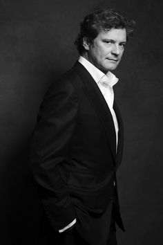 Colin Firth. This has to be the most alluring photograph of a man I've ever seen. Ever. I mean it. Ever.