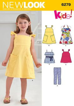 Possible flower girl dress pattern Simplicity : 6137 - Here comes ...
