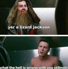 yer a lizard jackson